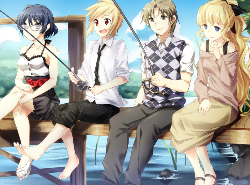 Hisao_fishing_with_the_girls.png